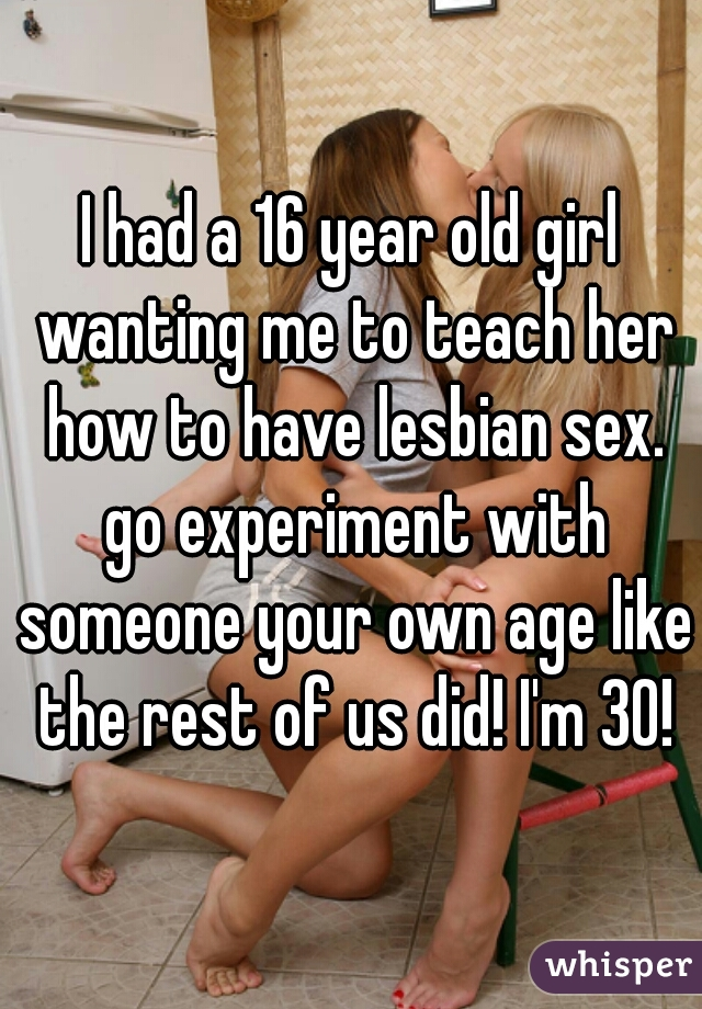 what is it like to have lesbian sex