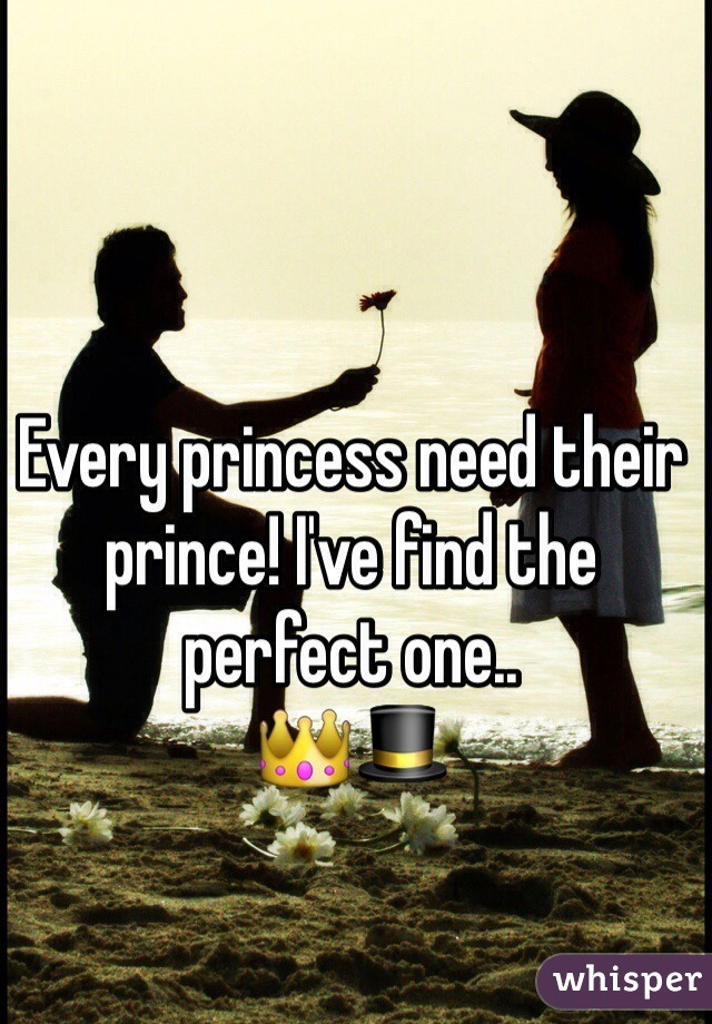 Every princess need their prince! I've find the perfect one.. 👑🎩