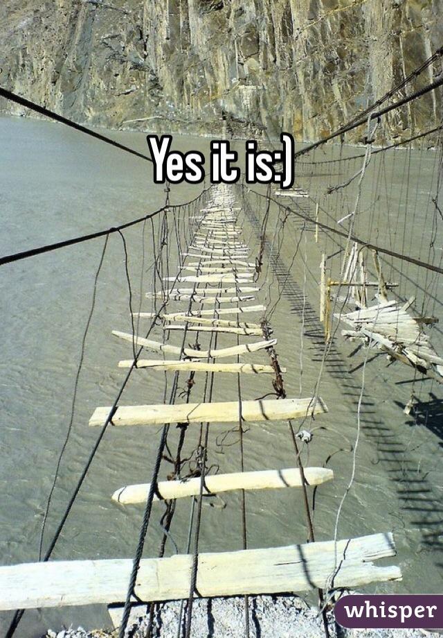 Yes it is:)