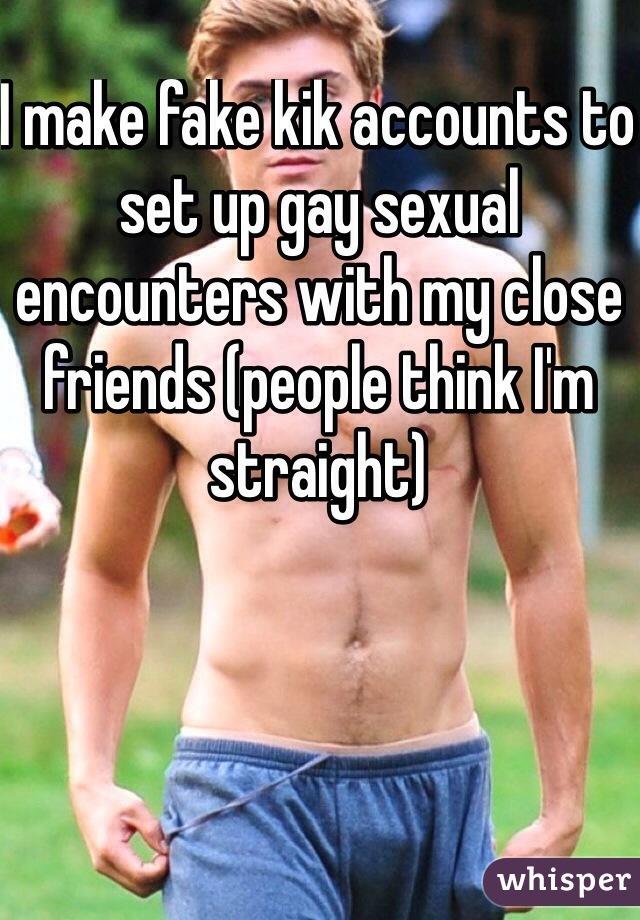 Gay kik accounts