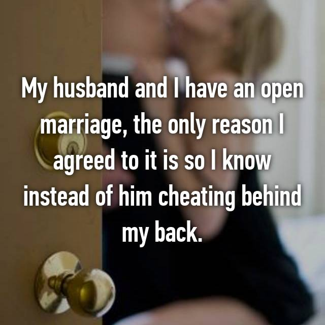 open marriage for husband only