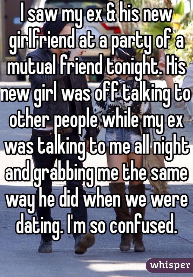 Dating A Mutual Friend Of My Ex