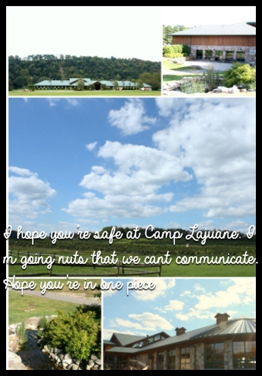 I hope you're safe at Camp Lajuane. I m going nuts that we cant communicate. Hope you're in one piece
