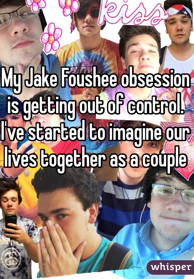 My Jake Foushee obsession is getting out of control. I've started to imagine our lives together as a couple