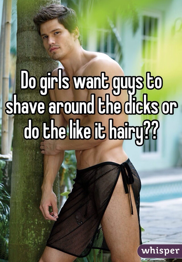 Do Girls Want Guys To Shave