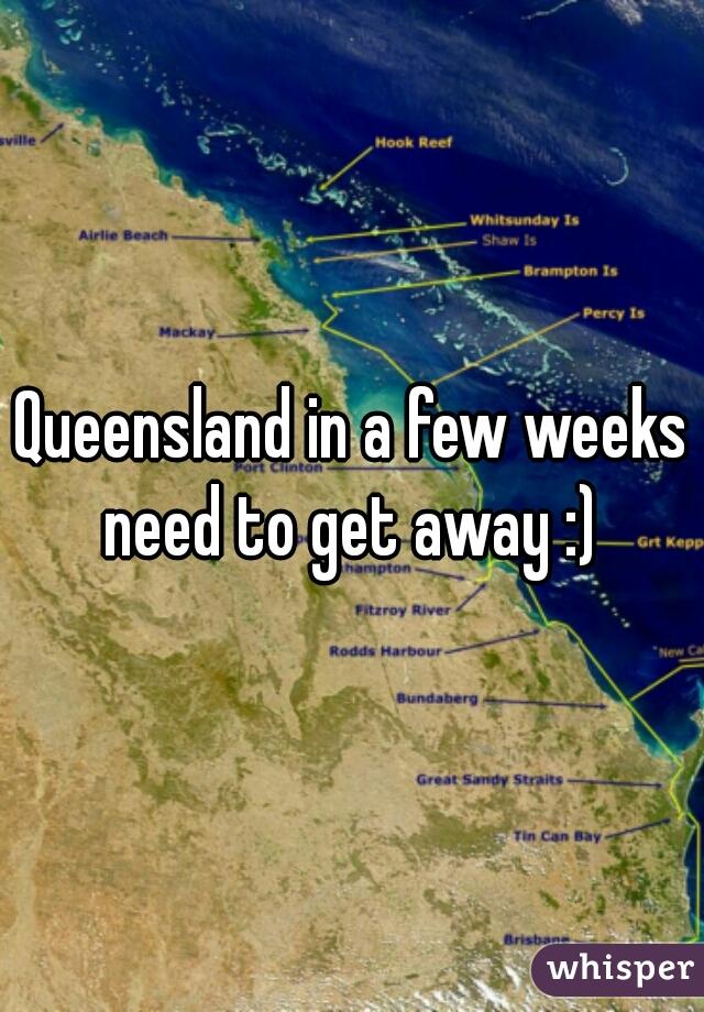 Queensland in a few weeks need to get away :)
