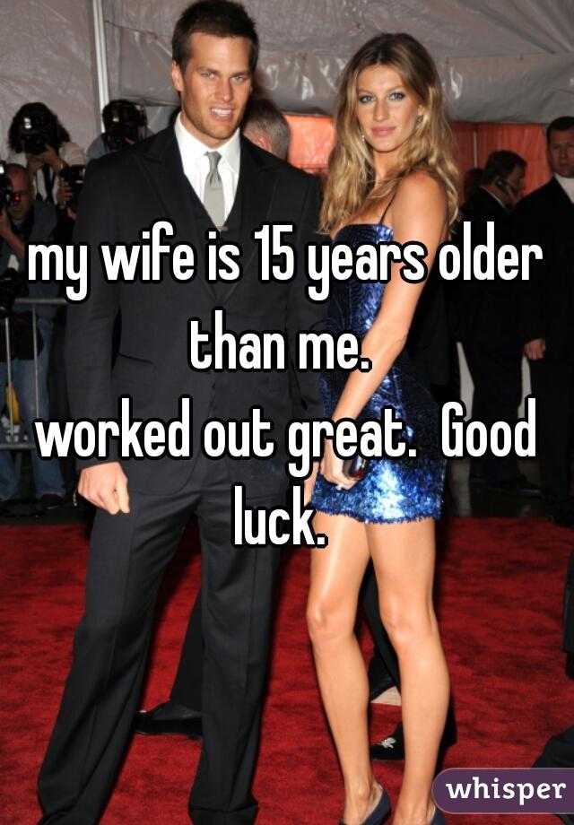 Older wife pics