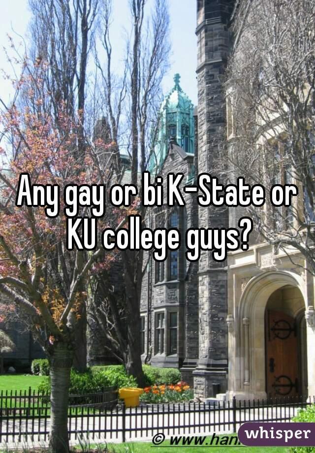 Any gay or bi K-State or KU college guys?