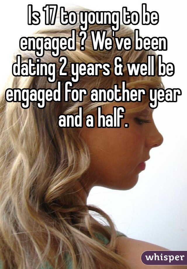year and a half dating