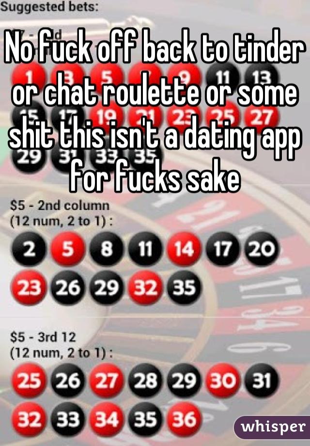 Fuck chat app