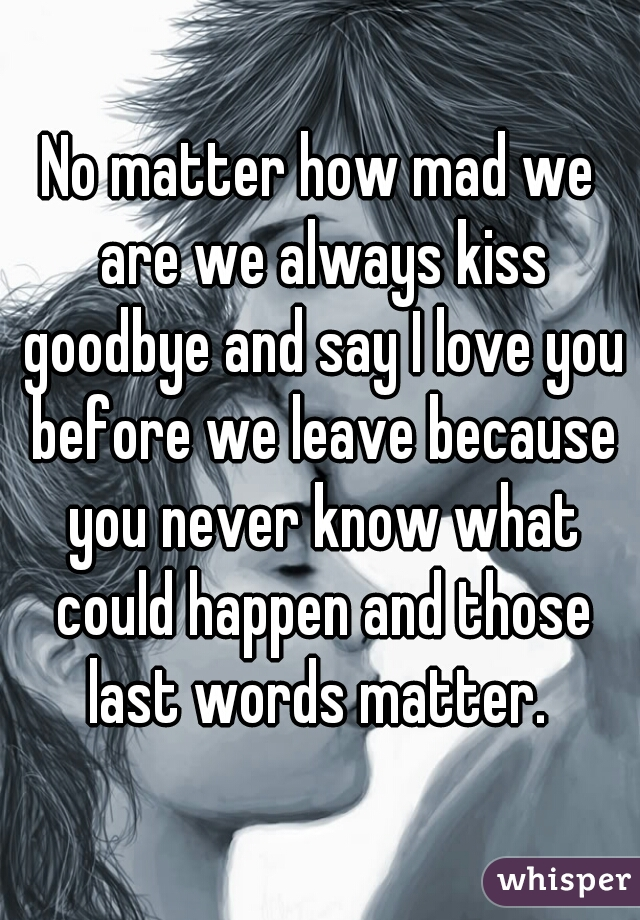 A before kiss What say to