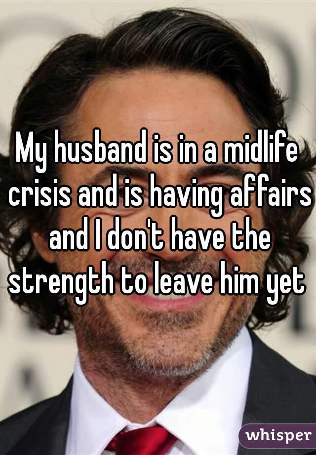 midlife crisis affair