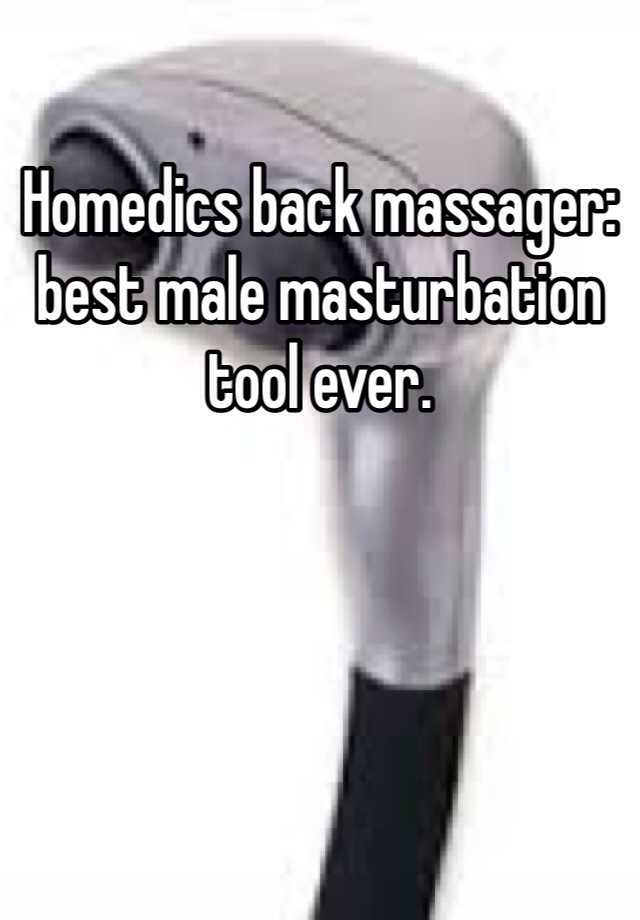 massager masturbation Back