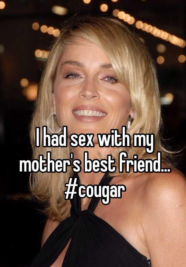 Best cougar sex