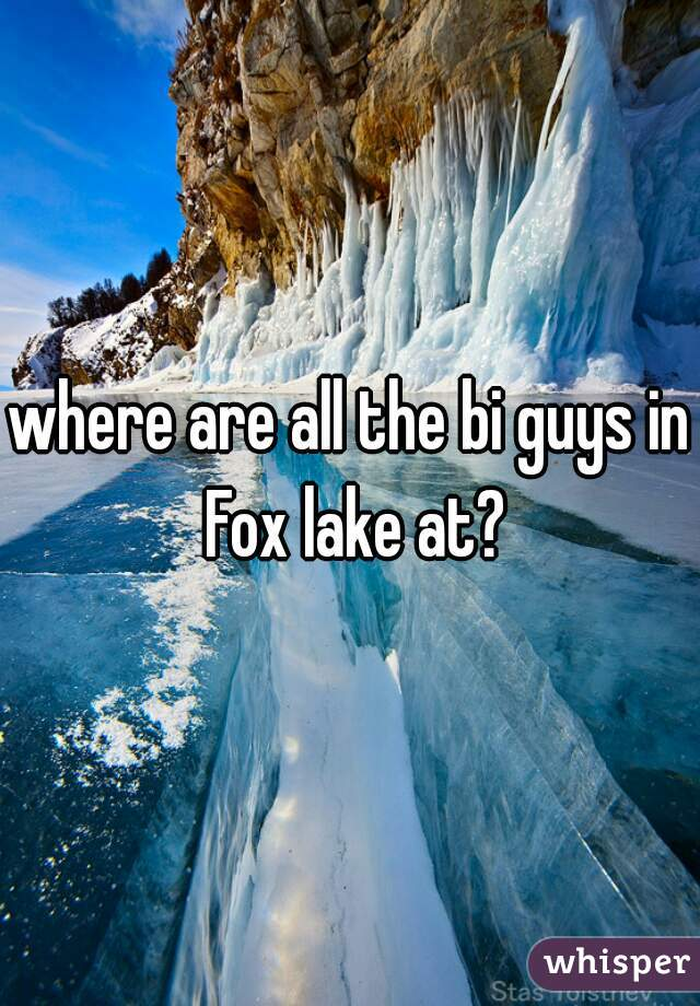where are all the bi guys in Fox lake at?