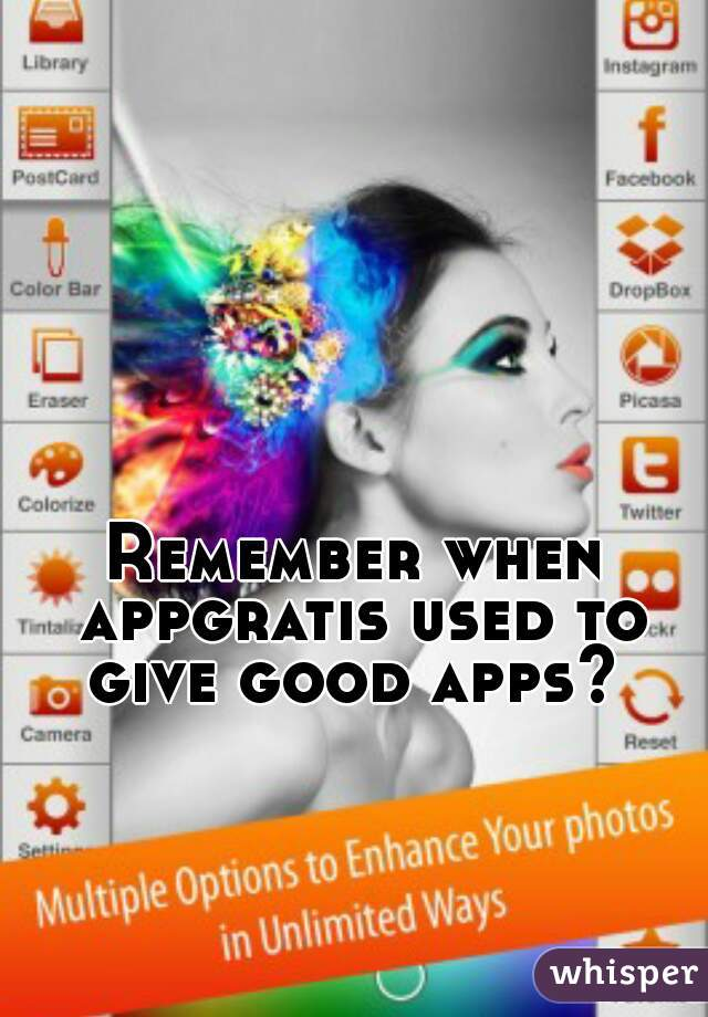 Remember when appgratis used to give good apps?