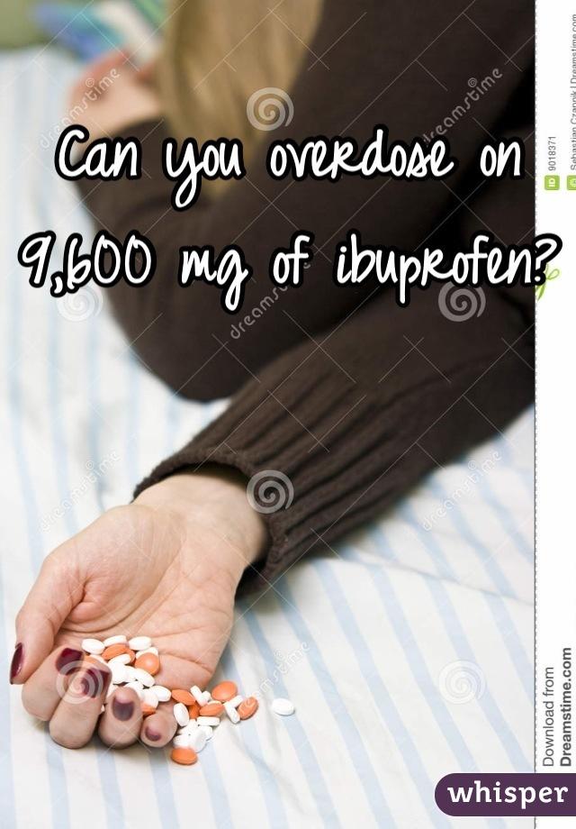 Brufen and overdose