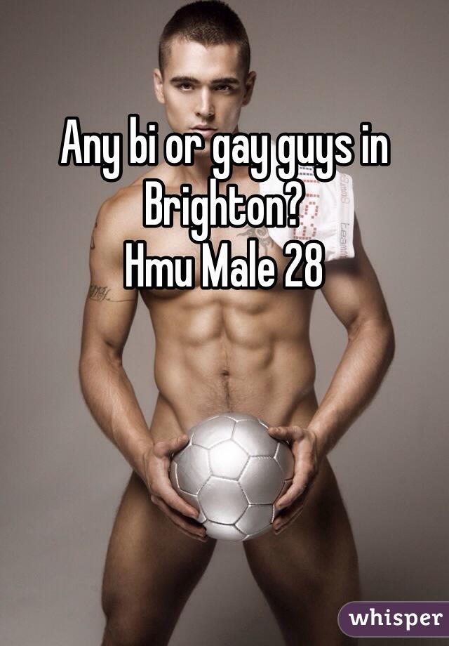 Any bi or gay guys in Brighton? Hmu Male 28