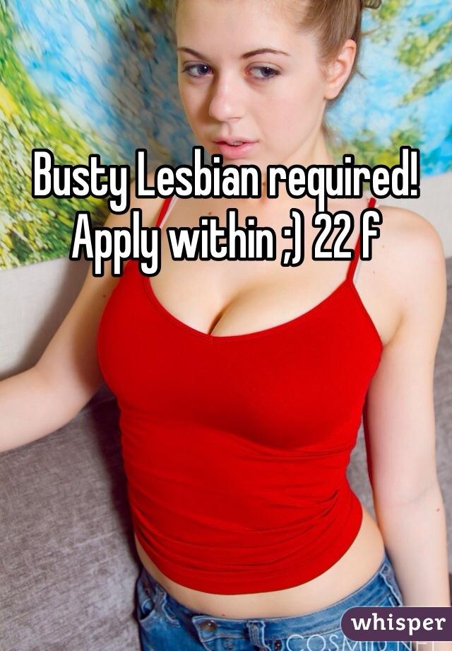 Busty girl lesbian