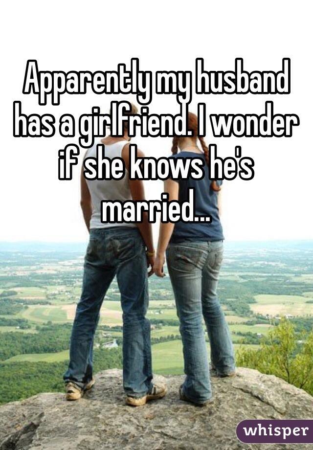 A has my girlfriend husband I cheated