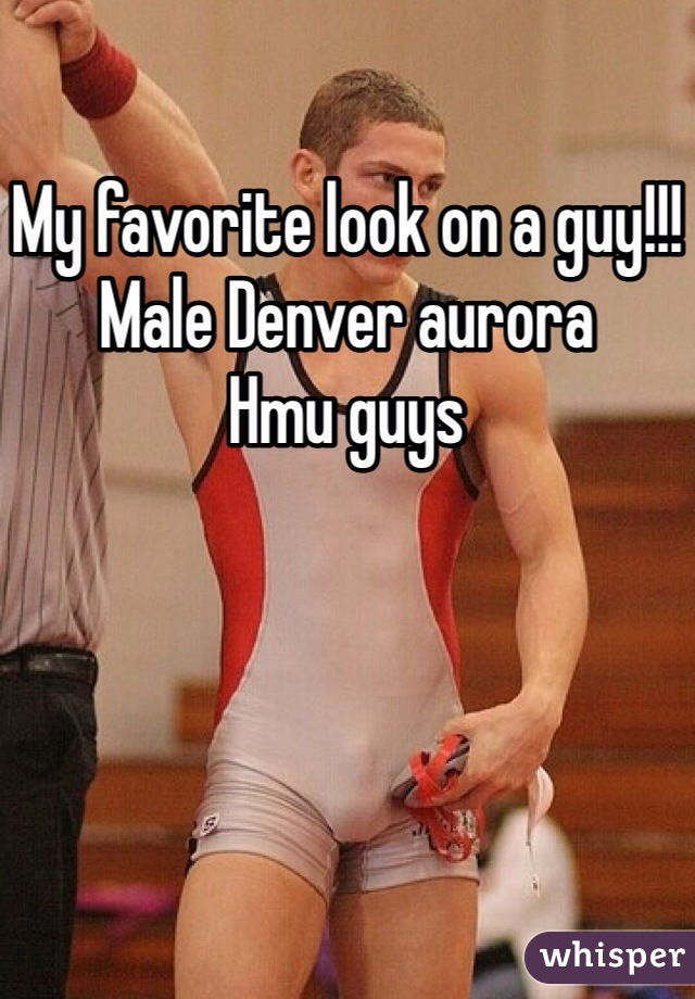 My favorite look on a guy!!! Male Denver aurora Hmu guys
