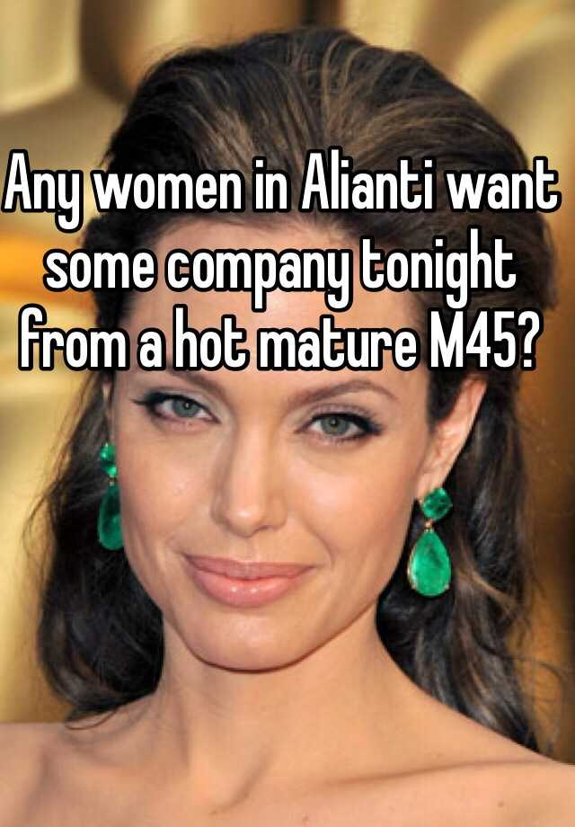 Hot matures
