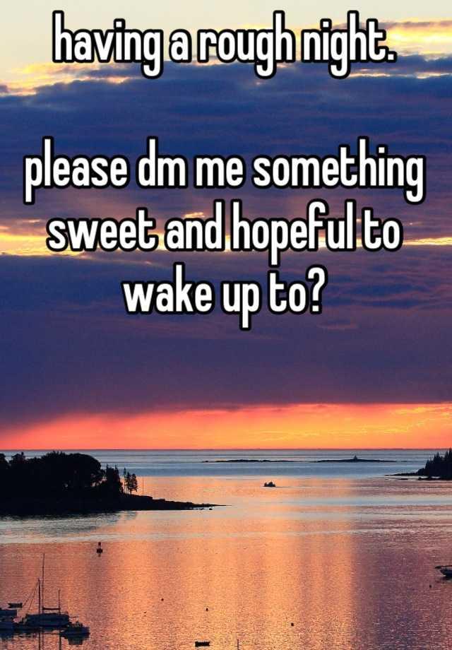 tell me something sweet tell me something nice