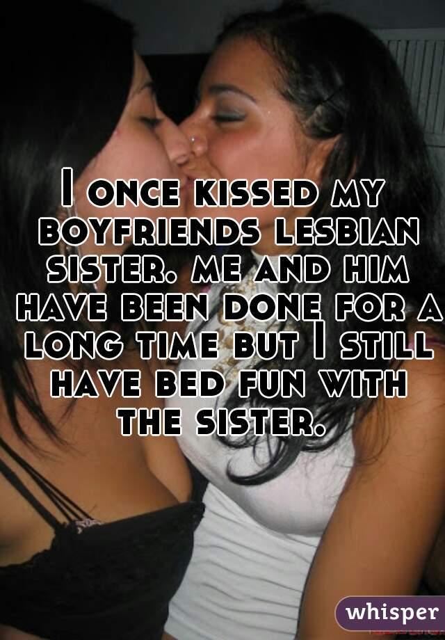 Kissing lesbian lesbian sister sister