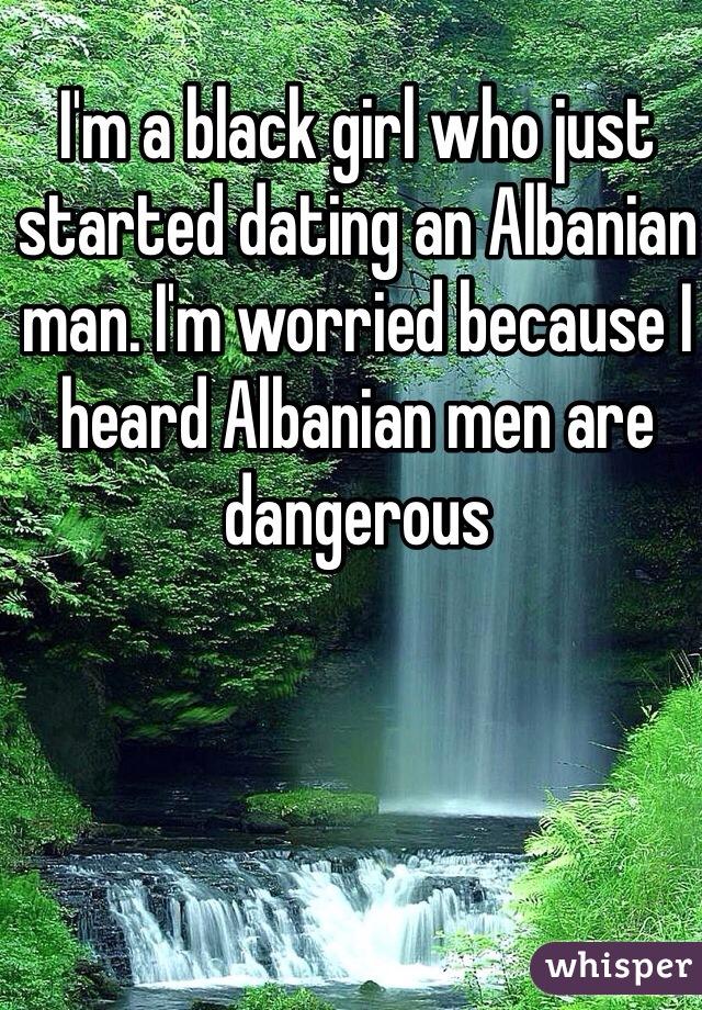 Albanian dating black