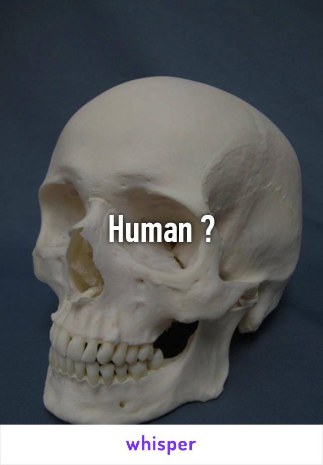 Human 😁