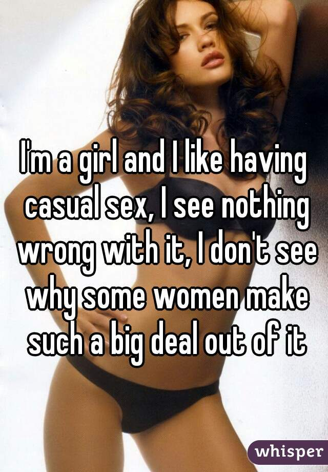 Women having casual sex