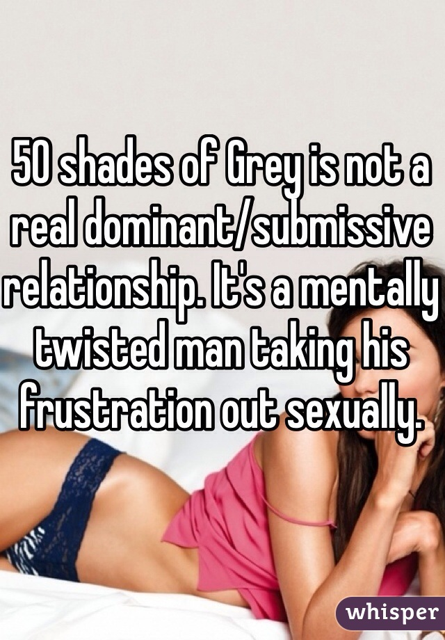 Dominant submissive relationship online