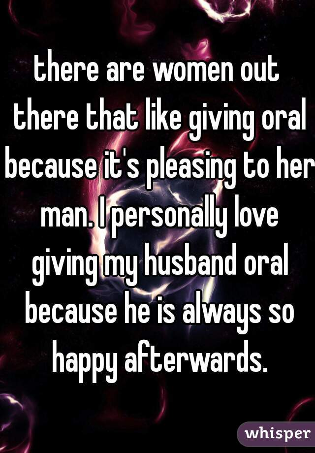 women who love giving oral
