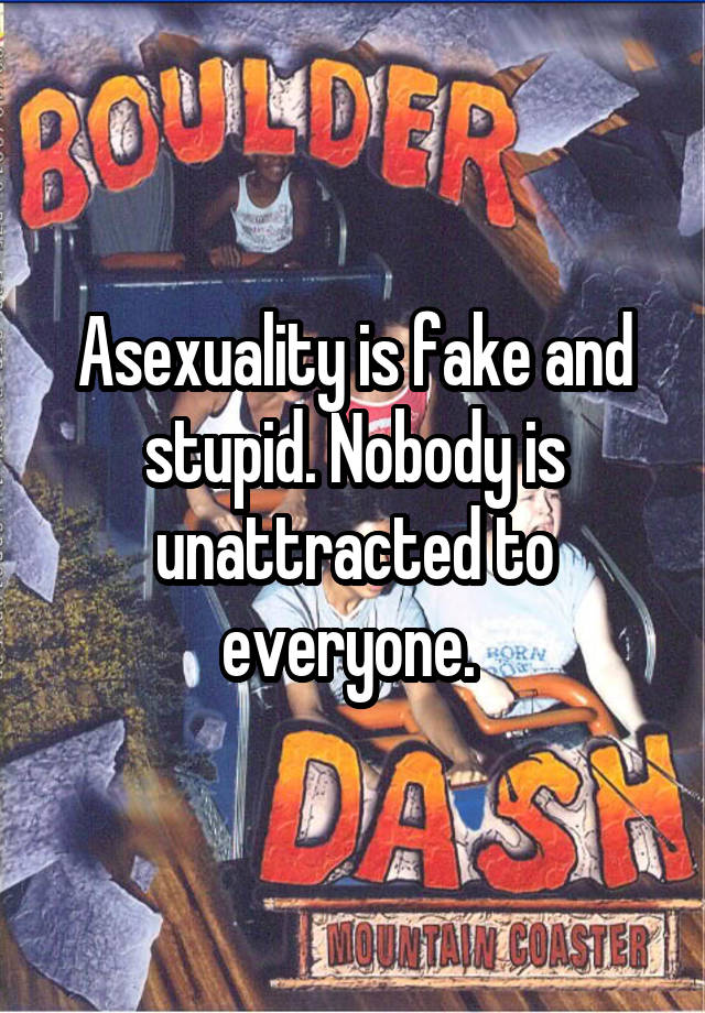 Asexuality fake