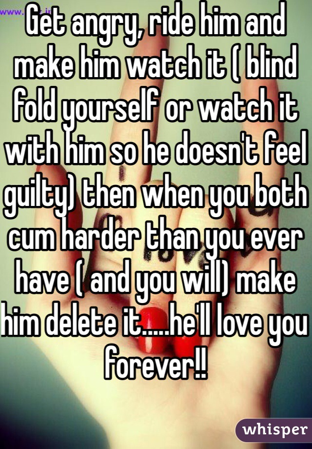 Make Him Cum Harder