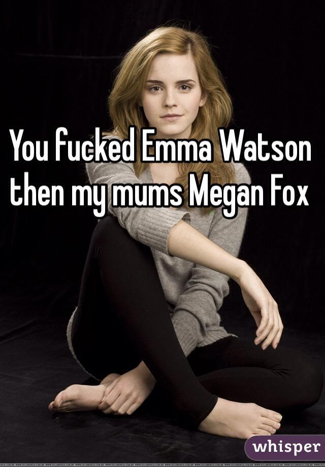 emma watson fucked