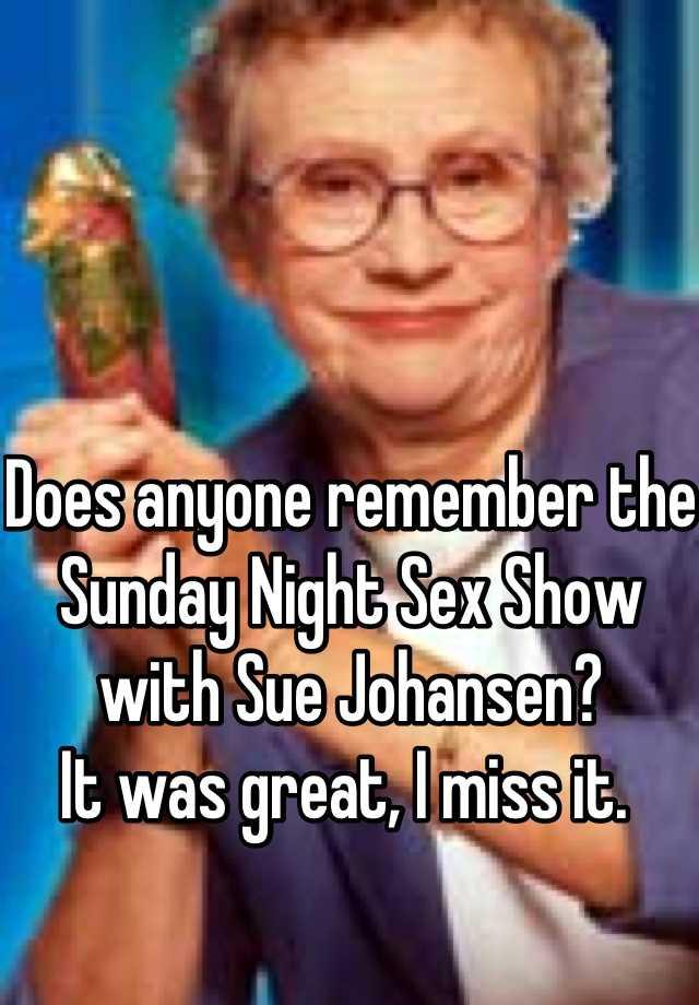 Sundaynight sex show