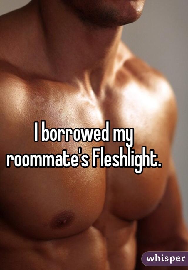 My roommate s fleshlight