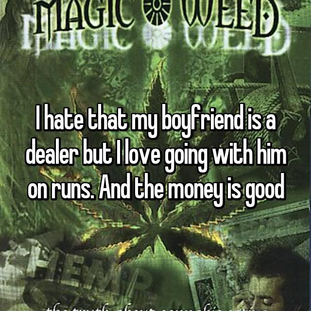 Risks of dating a drug dealer
