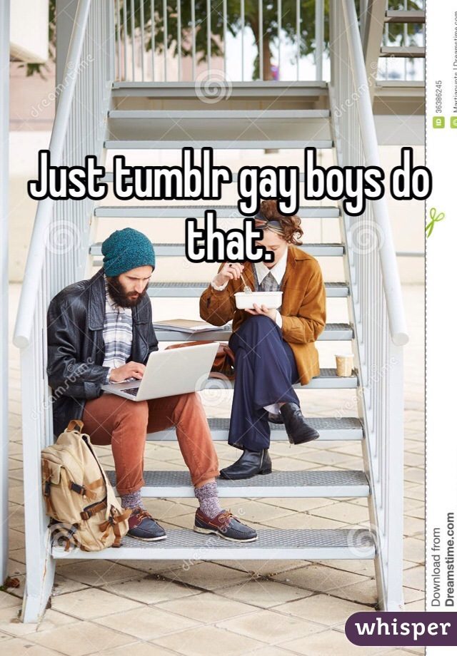 Tumblr Just Gay Boys