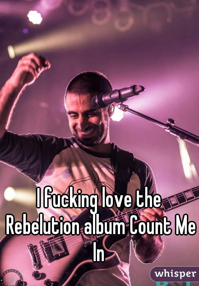 I fucking love the Rebelution album Count Me In