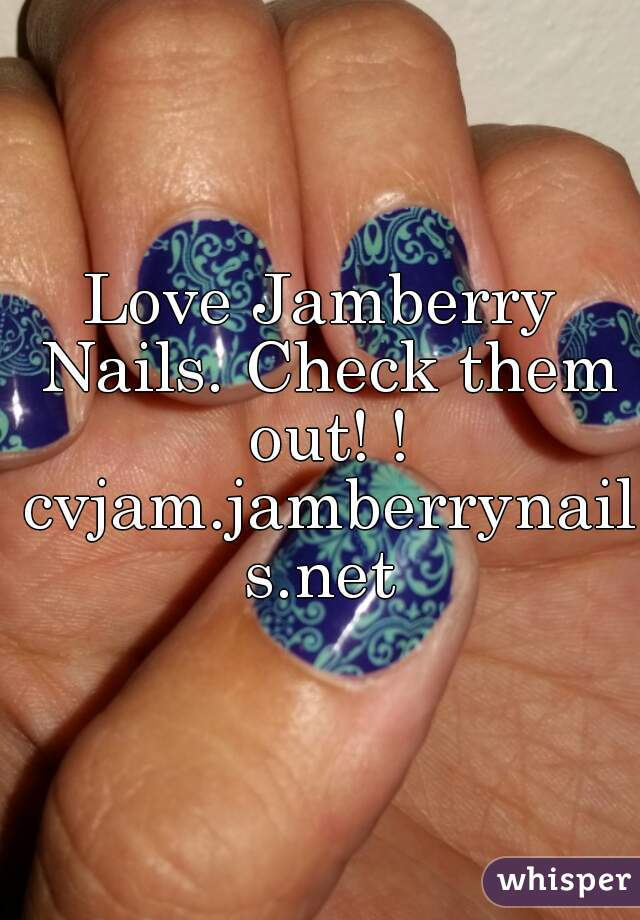 Love Jamberry Nails. Check them out! ! cvjam.jamberrynails.net