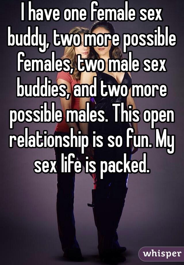 my sex buddy