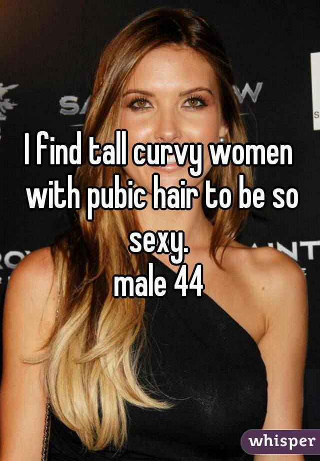 pubic hair women Tall