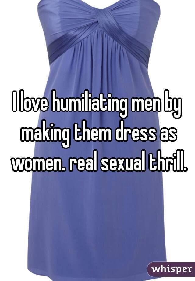 Sexual Victim Women Sexually Humiliating Men