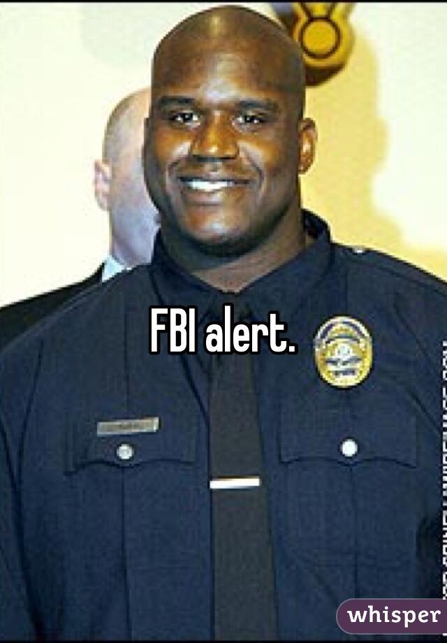 FBI alert.