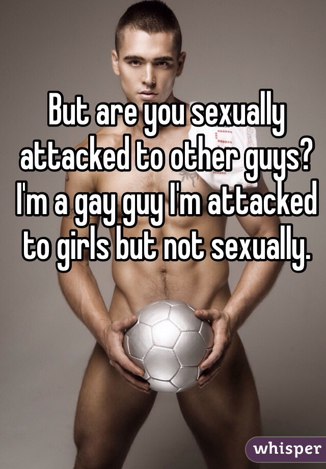 I like guys but not sexually