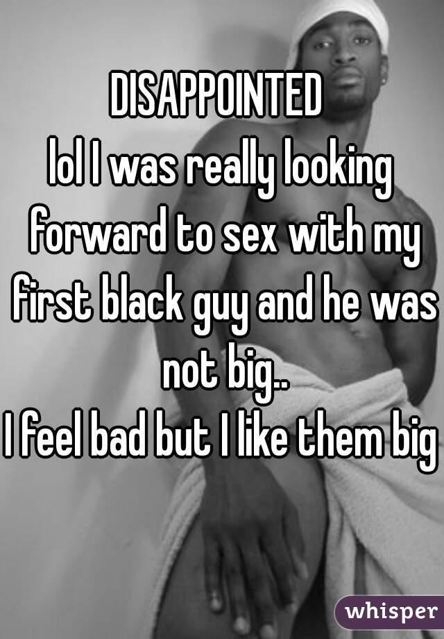 My First Black Guy