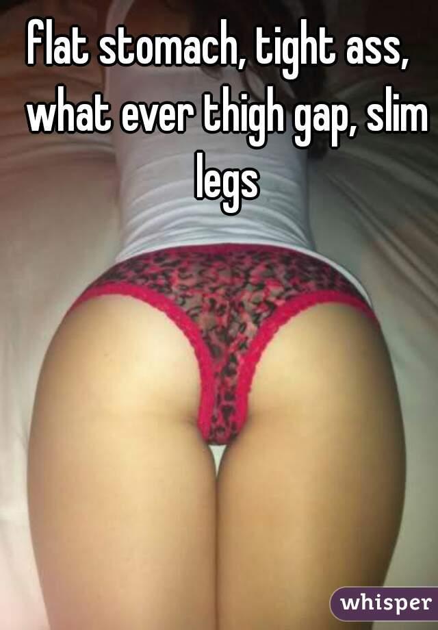 thigh gap ass