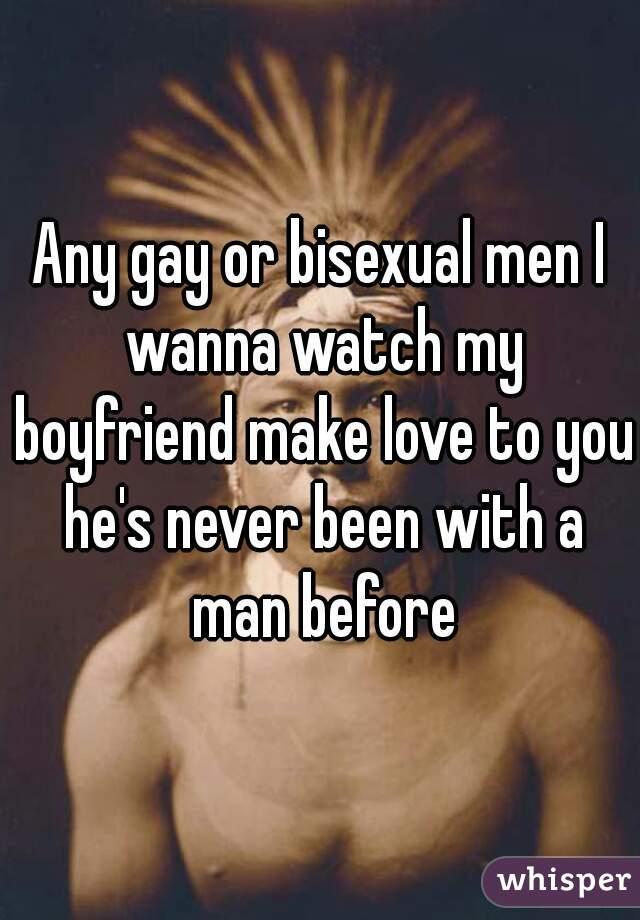 Is my boyfriend gay or bisexual